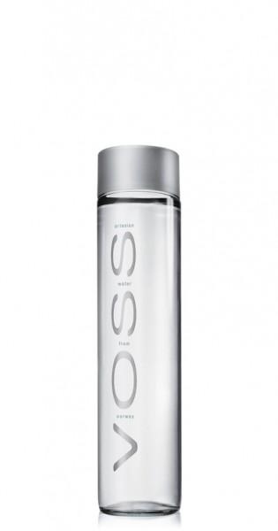 Voss Water - Premium Wasser, still, 375ml - Glas-Flasche