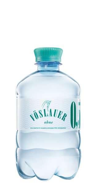 Vöslauer Mineralwasser - still, 500ml - PET-Flasche