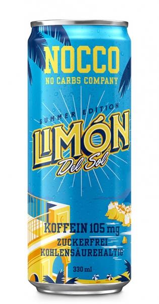 NOCCO BCAA - Limon del Sol, 330ml - Dose