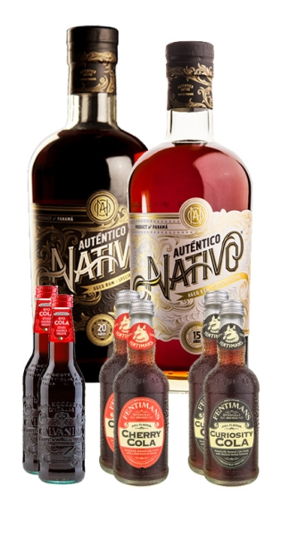 Auténtico Nativo Bundle - Buy 2x Auténtico Nativo (1x 15 Years & 1x 20 Years) and we add 4x Veen Mixers Ginger Ale for FREE!