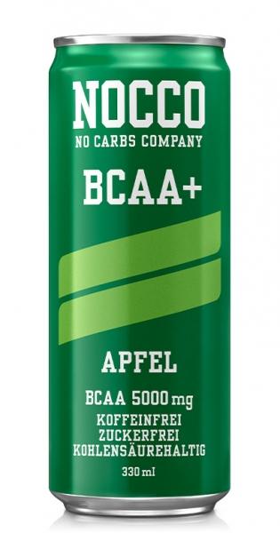 NOCCO BCAA+ - Apfel, 330ml - Dose