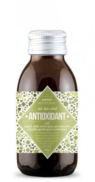 Organic Human - Organic Shot, Antioxidant, 100ml - Glas-Flasche