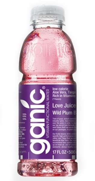 ganic Vitaminwater - Beauty, Love Juice, Wild Plum B8, 500ml - PET-Flasche