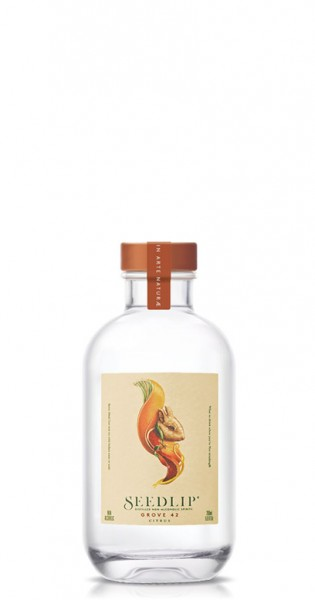 Seedlip - Non Alcoholic Spirit, Grove 42, 200ml - Glas-Flasche