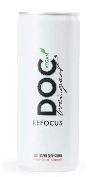 Doc Weingart - Refocus, Sport Active Drink, 250ml, Vegan - Dose