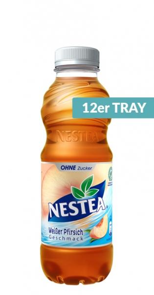 Nestea - White Peach Zero, 0.5l - 12 PET Bottles