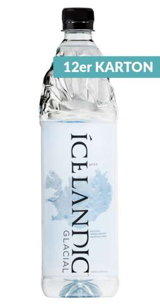 Icelandic Glacial Water - Gletscherwasser - still, 1l - 12 PET-Flaschen