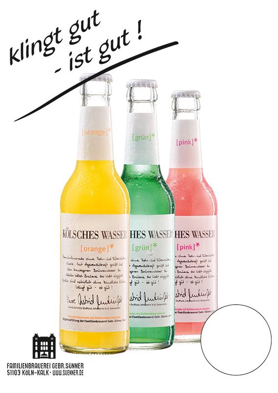 Sünner Kölsches Wasser - Natürliche und gesunde Limonade