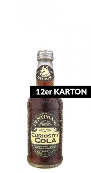 Fentimans - Curiosity Cola, 275ml - 12 Glas-Flaschen
