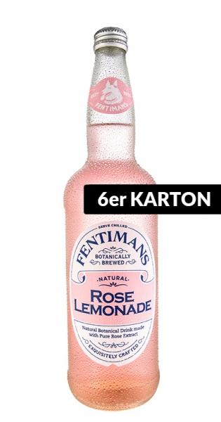 Fentimans - Rose Lemonade, 750ml - 6 Glas-Flaschen