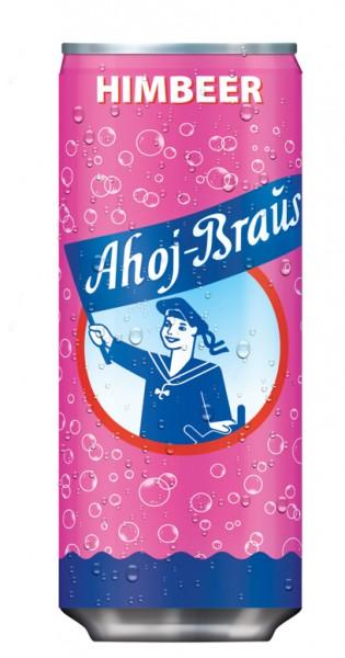 Ahoj Brause Drink - Himbeere, 330ml - Dose