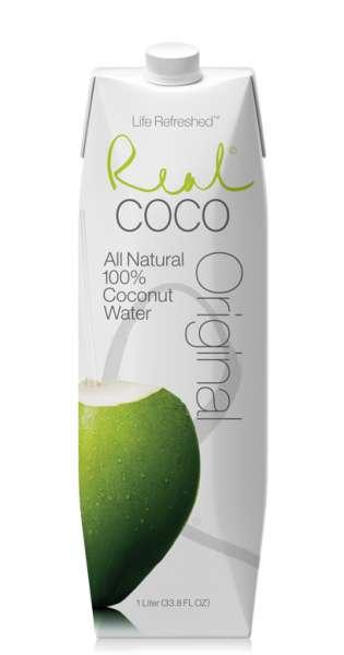 Real Coco - Coconut Water, Pure, 1l - Tetra-Pak