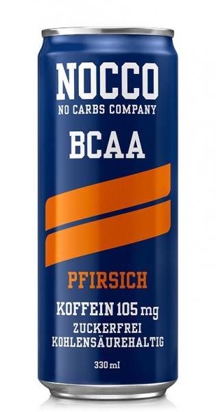 NOCCO BCAA - Pfirsich, 330ml - Dose