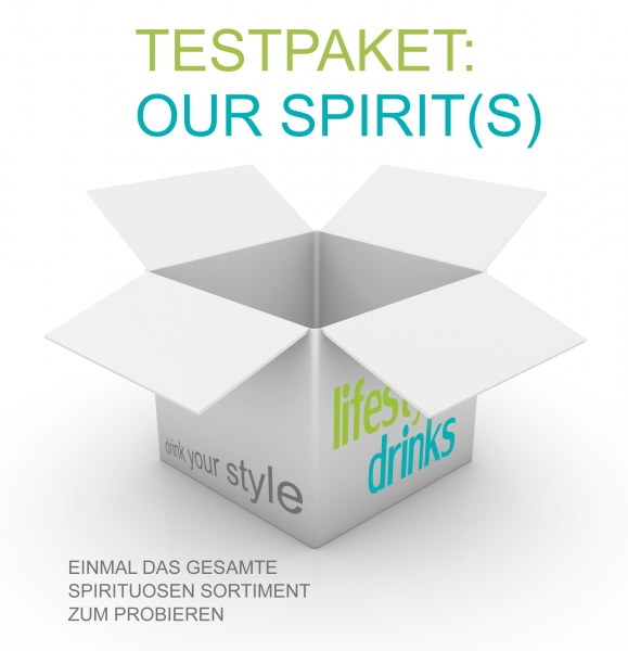 "Testpaket ""Our Spirit(s)"""