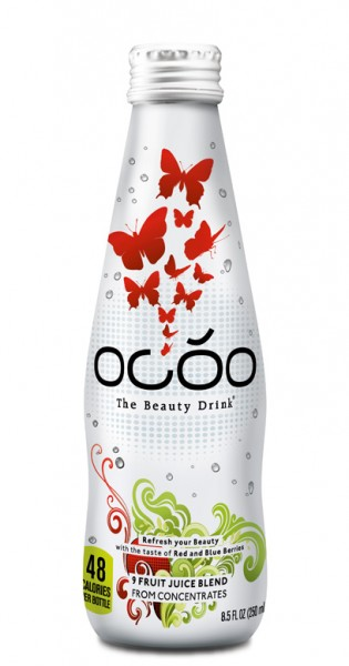 OCOO - The Beauty Drink, 250ml - Glas-Flasche