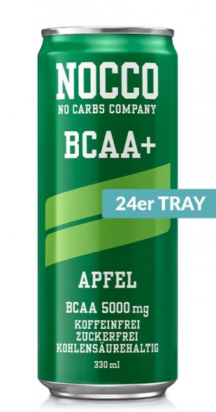 NOCCO BCAA+ - Apfel, 330ml - 24 Dosen