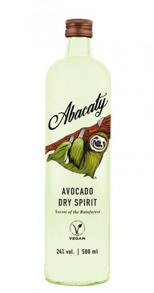 Abacaty - Avocado Dry Spirit, 500ml - Glas-Flasche