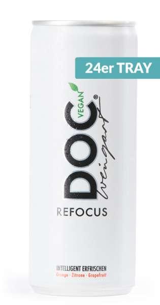 Doc Weingart - Refocus Sport Active Drink, 0.25l, Vegan - 24 Cans