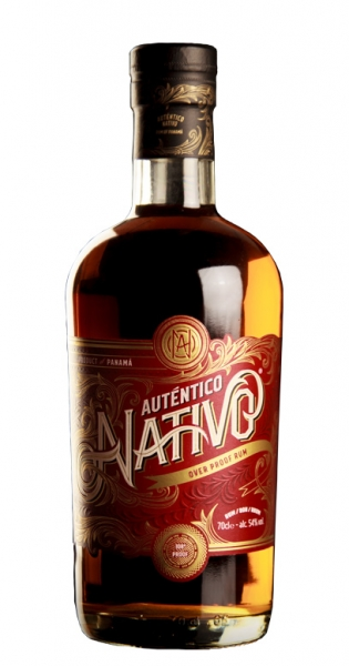Auténtico Nativo - Overproof Rum, 700ml - Glas-Flasche