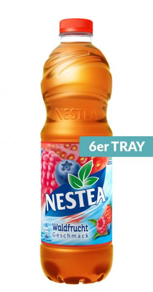 Nestea Ice Tea - Waldfrucht, 1500ml - 6 PET-Flaschen