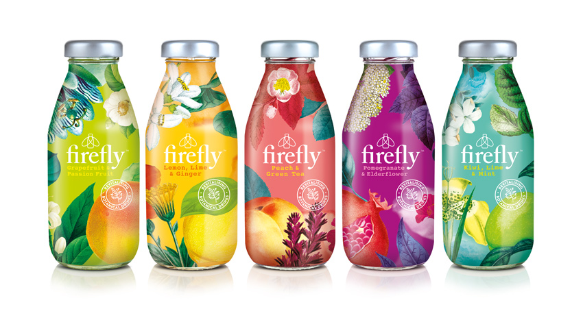 firefly drinks - gesunde energy drinks