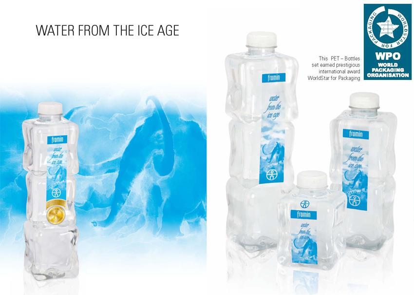 Fromin Wasser - Reinstes Premium Wasser