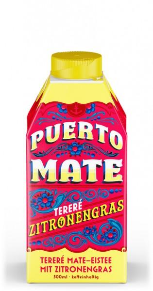 Puerto Mate - Zitronengras, 500ml - Tetra-Pak
