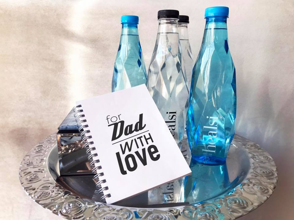 healsi Premium Wasser als Geschenk