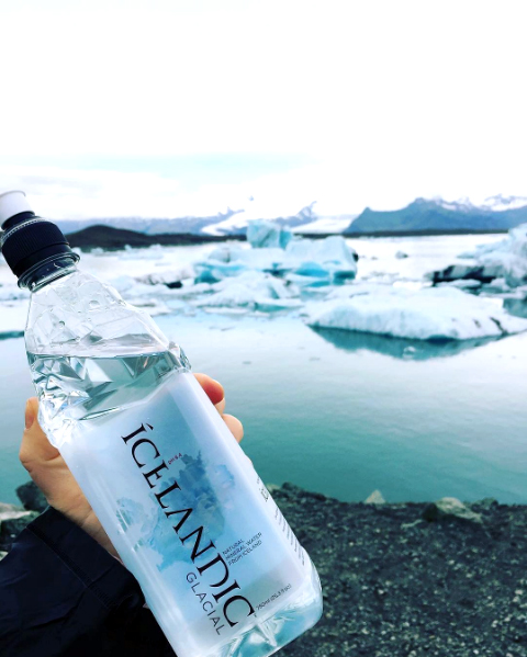 Icelandic Glacial Water - spring water from iceland