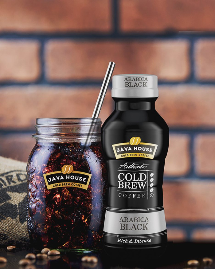 java house - cold brew coffee arabica black